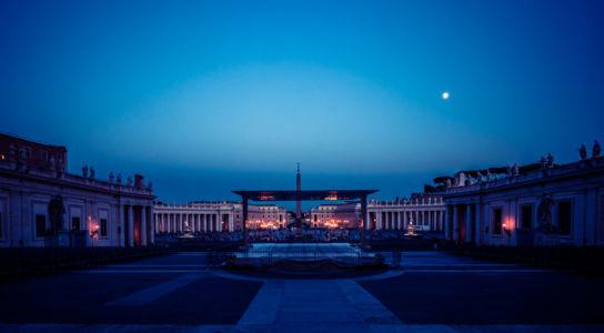 Sagrato della basilica, Borgo, Roma, Lazio, Vatican