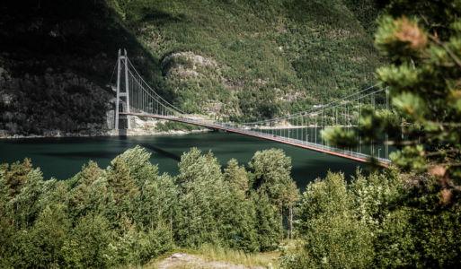 RV13, Bjotveit, Hordaland Fylke, Norge