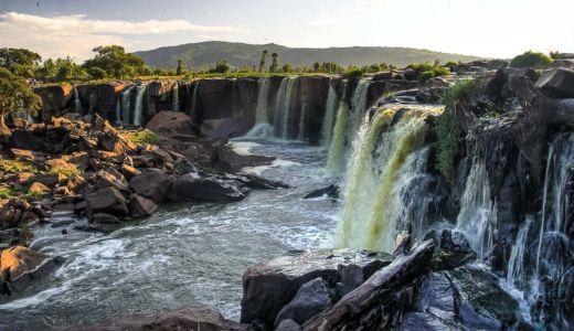 Fourteen Falls, Katheka, Eastern Province, Kenia