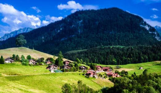 Cresuz, Crésuz, Canton de Fribourg, Switzerland