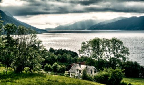 Rød, Vistdal, More og Romdal, Norwegen