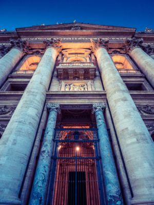 Viale del Giardino Quadrato, Borgo, Roma, Vatican, Vatican