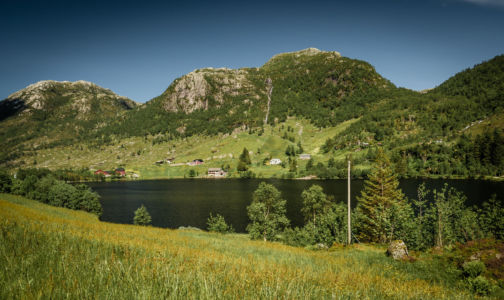 E39, Matre, Sogn og Fjordane Fylke, Norge