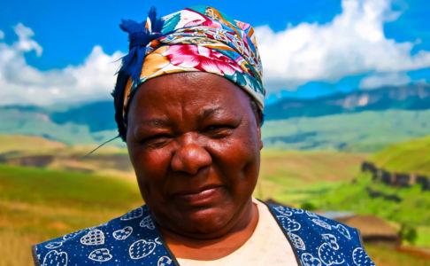 KwaMankonjane, Elandskop, Kwazulu-Natal, Südafrika