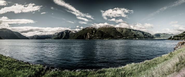 Njøs, Slinde, Sogn og Fjordane, Norwegen