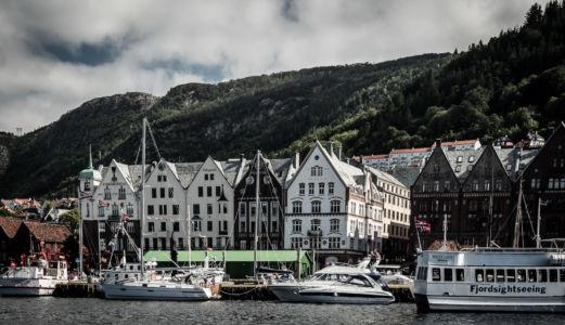 Torget, RV585, Bergenhus, Bergen, Hordaland Fylke, Norge