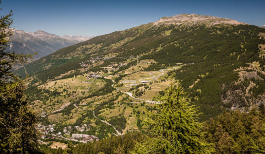 Sagna Longa, Cesana Torinese, Piemonte, Italy