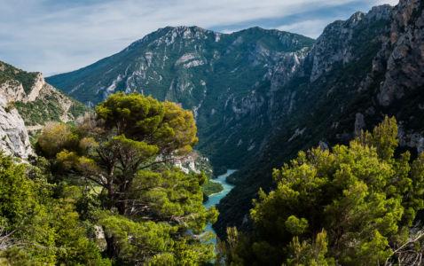 D 952, Aiguines, Alpes-de-Haute-Provence, France