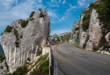 D 2, Gréolières, Alpes-Maritimes, France