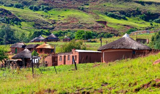 Wembesi, Cathedral Peak, Kwazulu-Natal, Südafrika