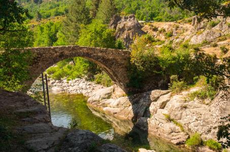 D 84, Casamaccioli, Haute-Corse, France