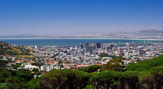 Oranjezicht, Cape Town, Western Cape, Südafrika