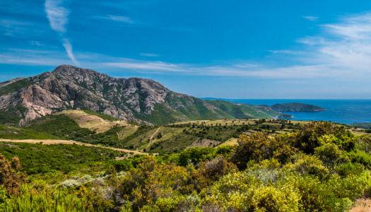 D 824, Vistale, Corse-du-Sud, France