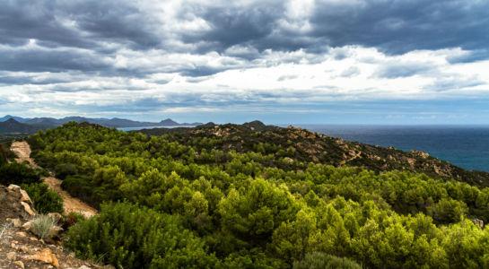 Is Traias, Villasimius, Sardegna, Italien