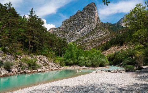 D 952, Castellane, Alpes-de-Haute-Provence, France