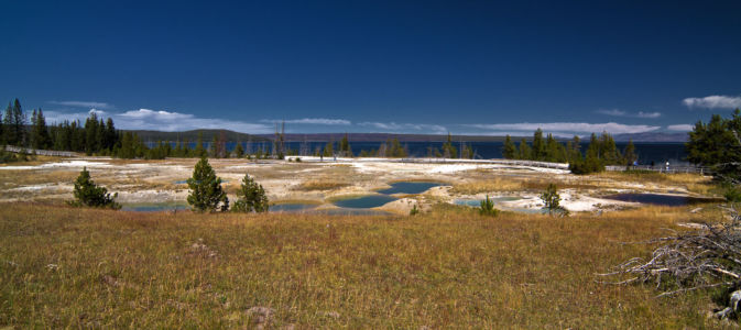 Lake, Yellowstone National Park, Wyoming, Vereinigte Staaten