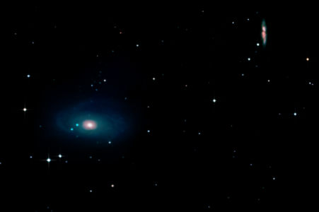 Bode's & Cigar Galaxy (M81&M82)