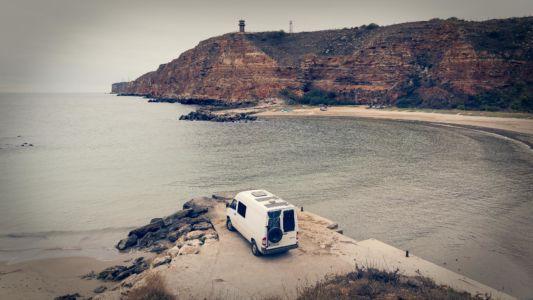 Bulgaria, Bolata Bay, Conan Filmset, Nanevo - GPS (43,382570; 28,471449)