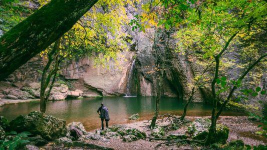 Bulgaria, Emen Waterfall - GPS (43,141453; 25,369508)