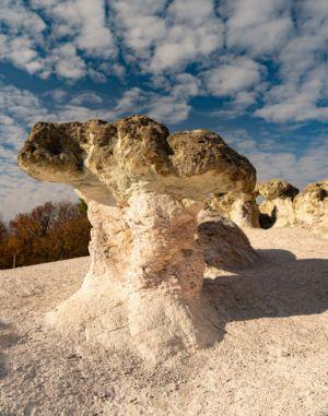 Bulgaria, Stone Mushrooms, Beli Plast - GPS (41,785428; 25,432324)