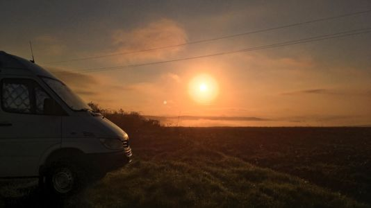 Bulgaria, Sunset - GPS (43,397403; 23,275089)