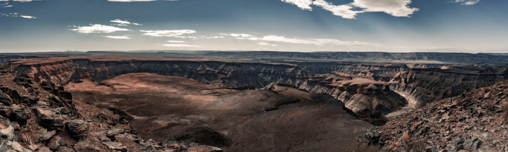 Fish River Canyon, Namibia, GPS (-27,600529; 17,609048)