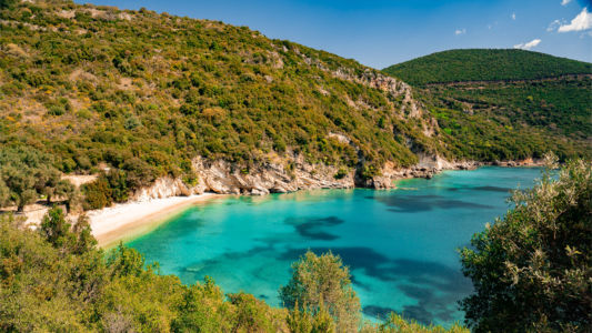 Greece, Agía Kyriakí - GPS (39,279490; 20,465795)