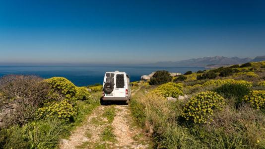 Greece, Agía Kyriakí Koúnou - GPS (36,533360; 22,369428)