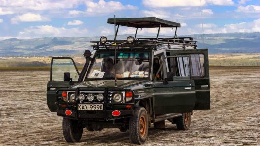 Lake Nakuru, Lake View Estate, Rift Valley, Kenia
