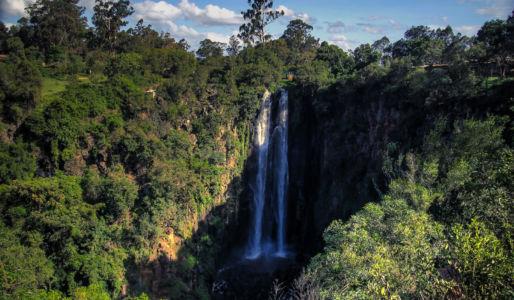Thomson Falls, Nyahururu, Central, Kenia