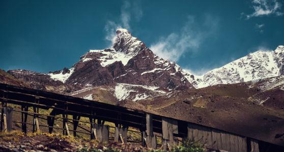 Las Cuevas, Mendoza, Argentina, GPS (-32,818738; -70,014708)