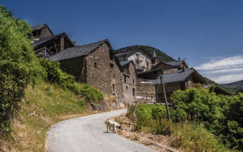 Llavorsi, Pyrenees, GPS (42,507477; 1,166702)
