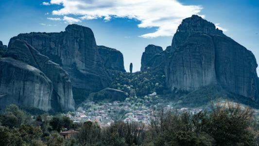 Meteora, Greece, Kastráki - GPS (39,721502; 21,611560)