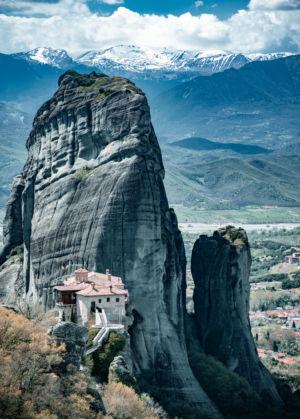 Meteora, Greece, Kastráki - GPS (39,722812; 21,634913)