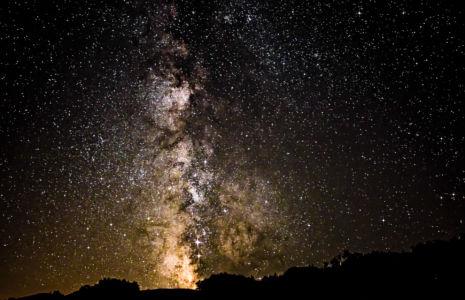 Milkyway Over Kozarica, Montenegro
