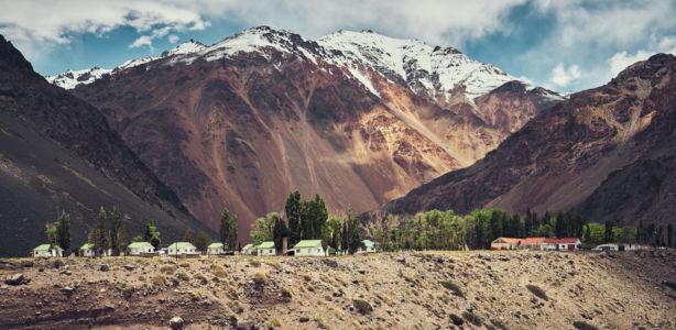 Punta De Vacas, Mendoza, Argentina, GPS (-32,848345; -69,749255)