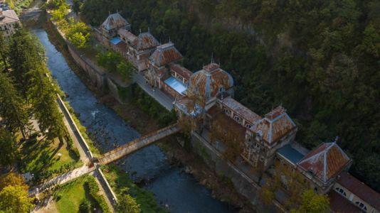Romania, Caras-Severin, Baile Herculane - GPS (44,888920; 22,423793)