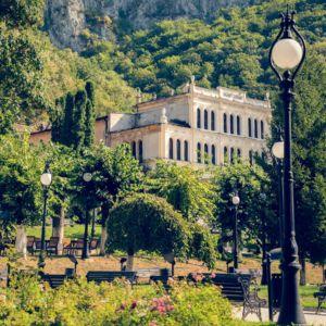 Romania, Caras-Severin, Baile Herculane - GPS (44,889627; 22,423526)