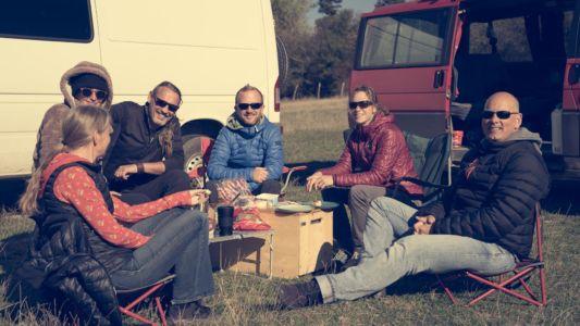 Silke, Jan, Verena, Edgar, Sonja & Totti, Bulgaria, Medven - GPS (42,839265; 26,554900)