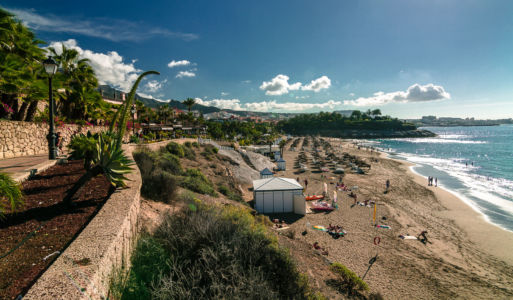 Playa del Duque, Adeje, Canarias, Spanien