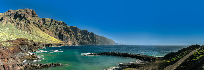 Los Carrizales, Buenavista Del Norte, Canarias, Spanien