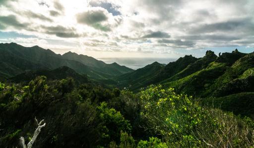 Los Tableros, Roque Negro, Canarias, Spanien