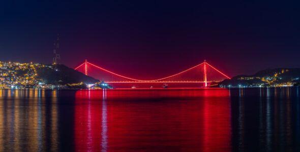Turkey, Bosporus Bridge - GPS (41,153079; 29,040488)