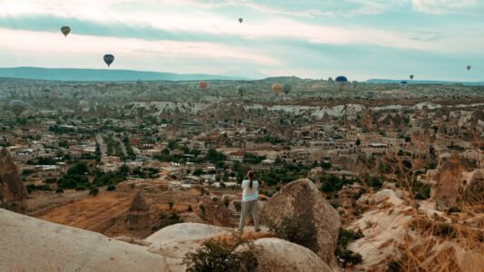Turkey, Göreme, Cappadocia - GPS (38,643124; 34,819727)