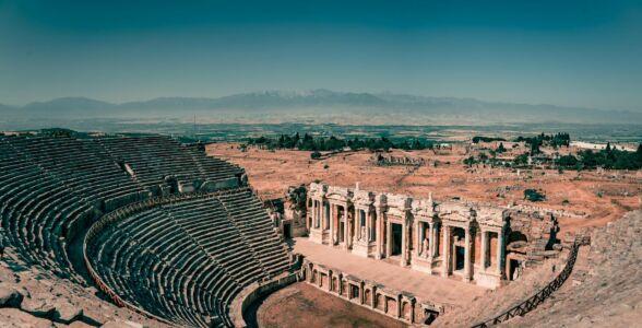 Turkey, Hierapolis - GPS (37,926937; 29,129536)