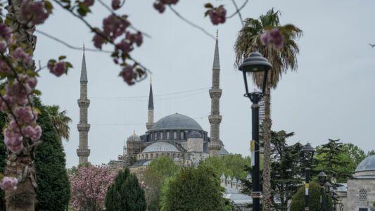 Turkey, Istanbul, Blue Mosque - GPS (41,001105; 28,977279)