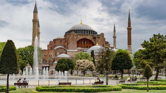 Turkey, Istanbul, Hagia Sophia - GPS (41,006786; 28,977927)