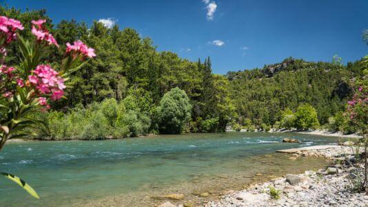 Turkey, Köprüçay River, Karataş - GPS (37,076966; 31,231621)