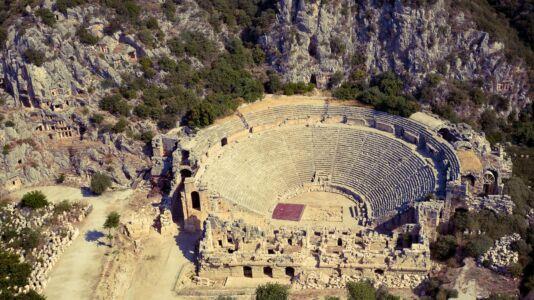 Turkey, Myra Ancient City - GPS (36,257765; 29,986252)