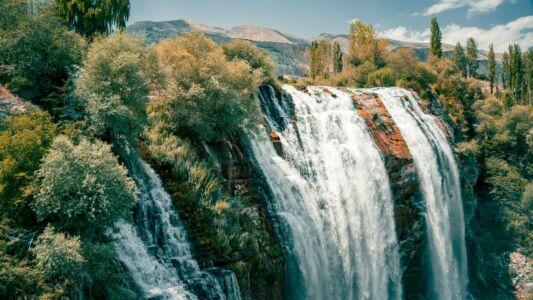 Turkey, Tortum Falls - GPS (40,660151; 41,668239)